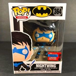 Funko Pop Heroes Nightwing #364 NYCC Shared con